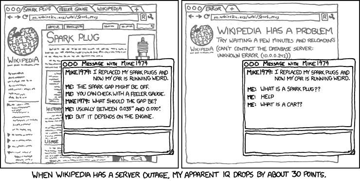 xkcd - Extended Mind