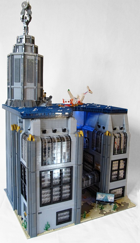 Bioshock's Rapture made of LEGOs