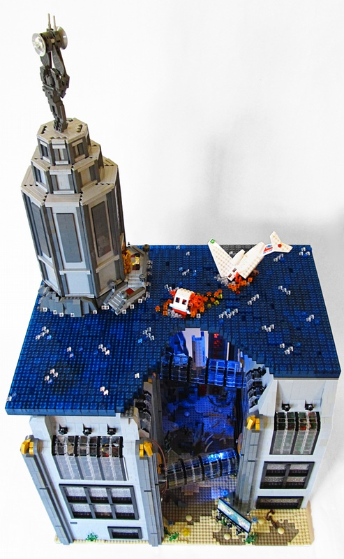 Bioshock's Rapture made of LEGOs 2