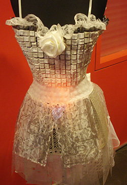 Computer Hardware Wedding Dress
