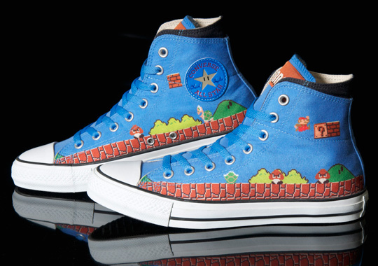 Converse Super Mario Bros Chuck Taylor Sneakers