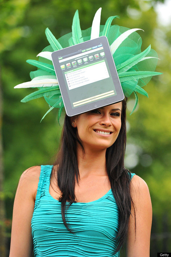 Crazy iPad Hat