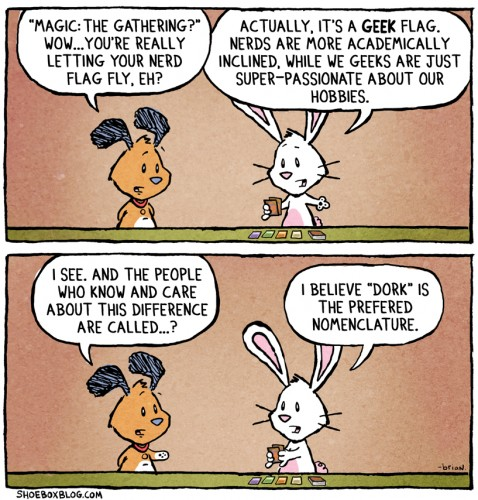 The Difference Between Geeks Nerds And Dorks Comic Global Geek News