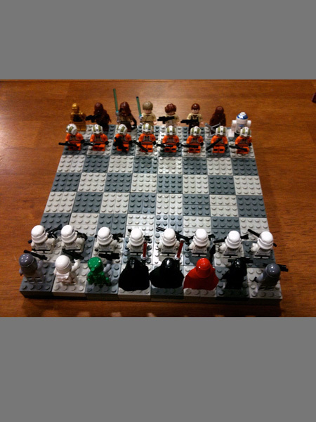 LEGO Star Wars Chess Game