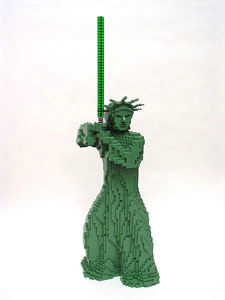 LEGO Star Wars Statue of Liberty
