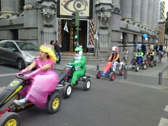 Mario Kart Cosplay
