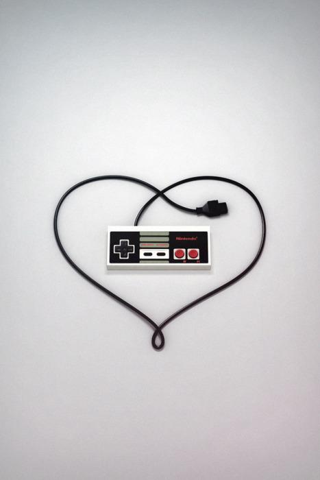 Nintendo Entertainment System Controller Love