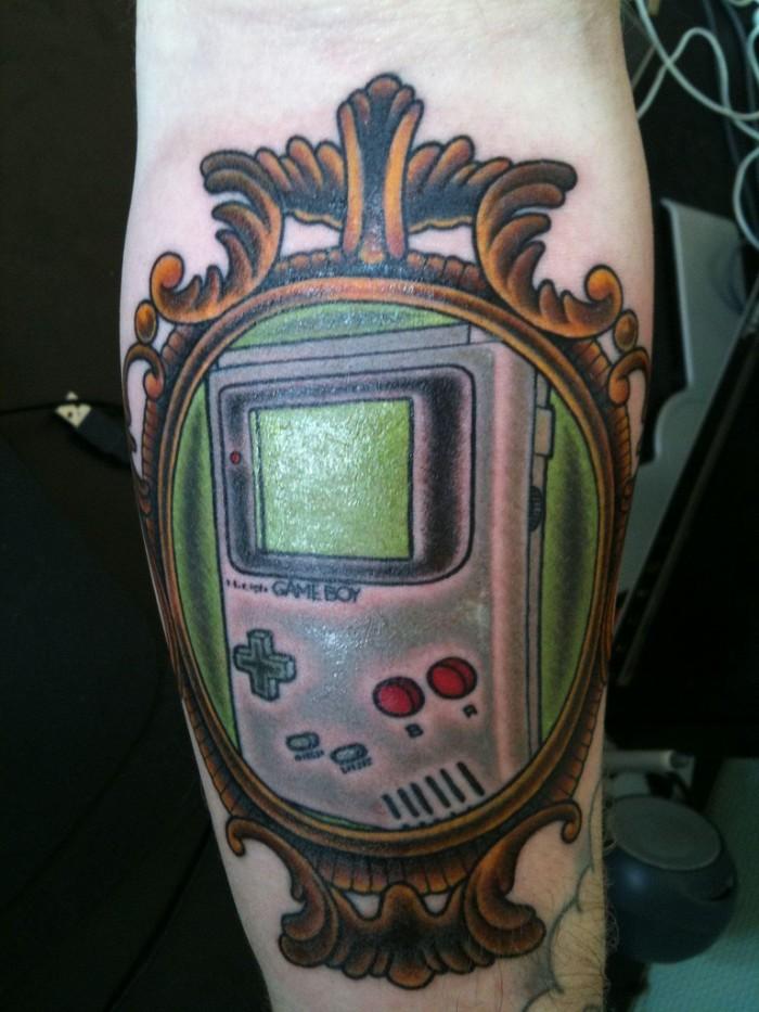 Nintendo Gameboy Tattoo