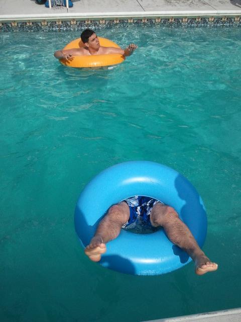 Portal Pool Party