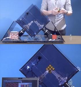 Ruby - The Rubik's Cube Solving Robot