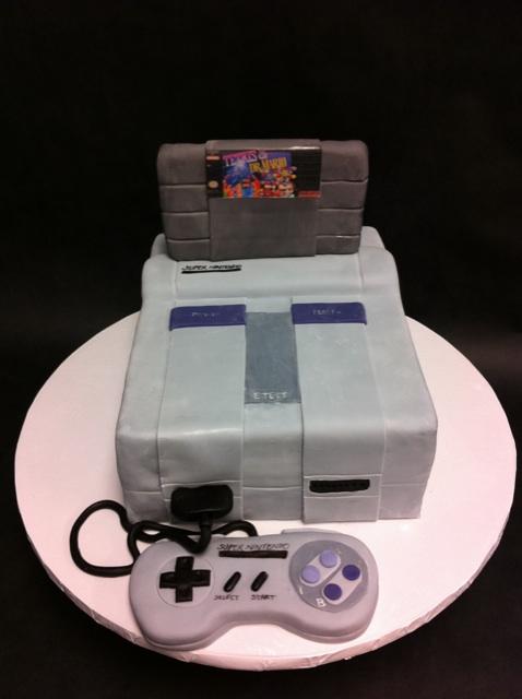 SNES Groom's Cake