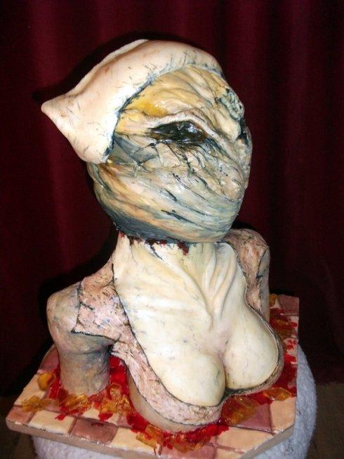 Silent Hill Nurse Cake