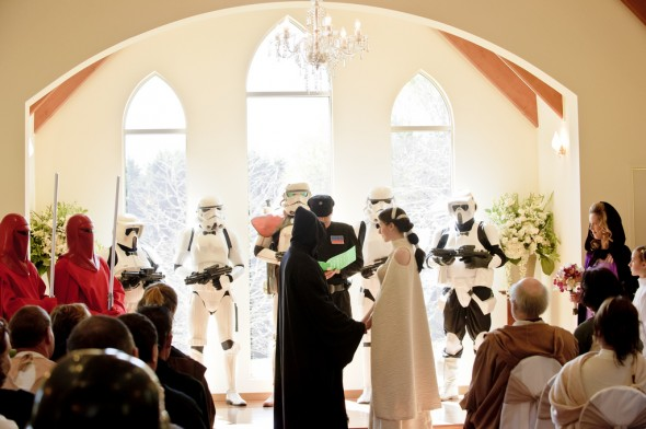 Ultimate Star Wars Wedding