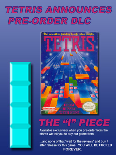 Video Game Pre-Order DLC in the 80s