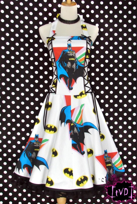 Batman Vintage Logo Dress