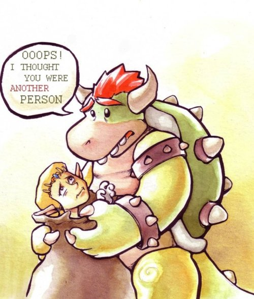 Bowser Kidnaps Princess Zelda