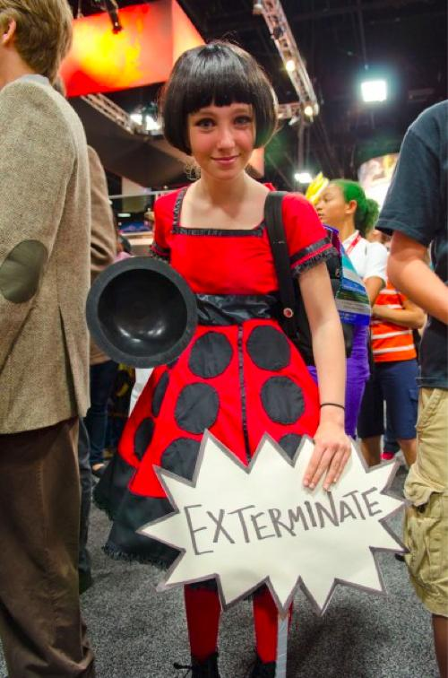 Cute Doctor Who Dalek Girl
