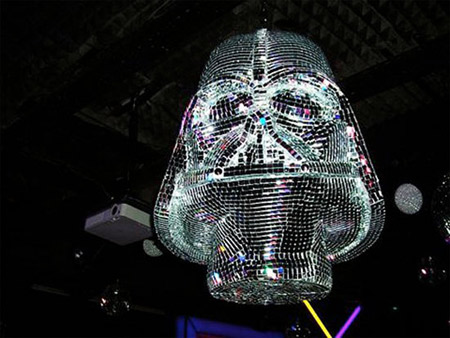Darth Vader Disco Ball