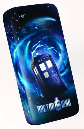 Doctor Who TARDIS Apple iPhone 4 Case