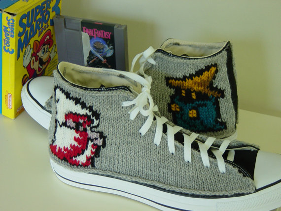 Final Fantasy knit Converse Chuck Taylor Sneakers