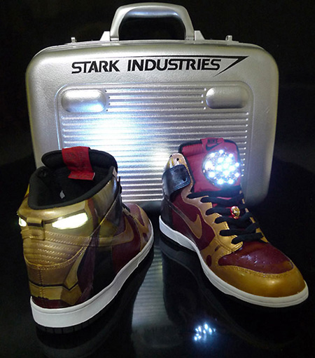 Iron Man Nike Sneakers