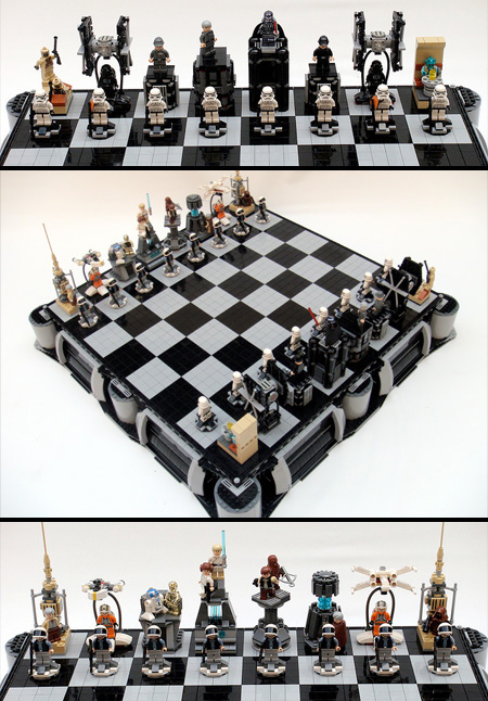 LEGO Star Wars A New Hope Chess Set