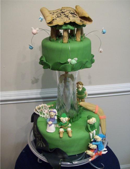 Amazing Legend Of Zelda Wedding Cake Toppers Pic Global Geek News