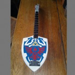 Legend of Zelda Hylian Shield Bass Guitar [pic]
