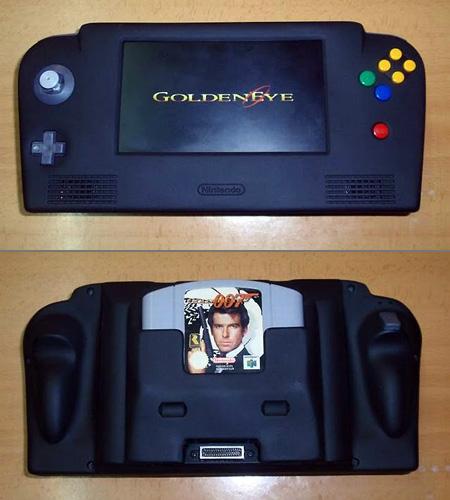 Nintendo 64 Handheld Console