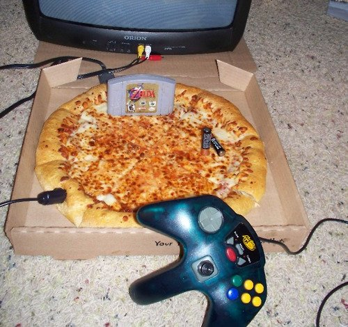 Nintendo 64 Pizza