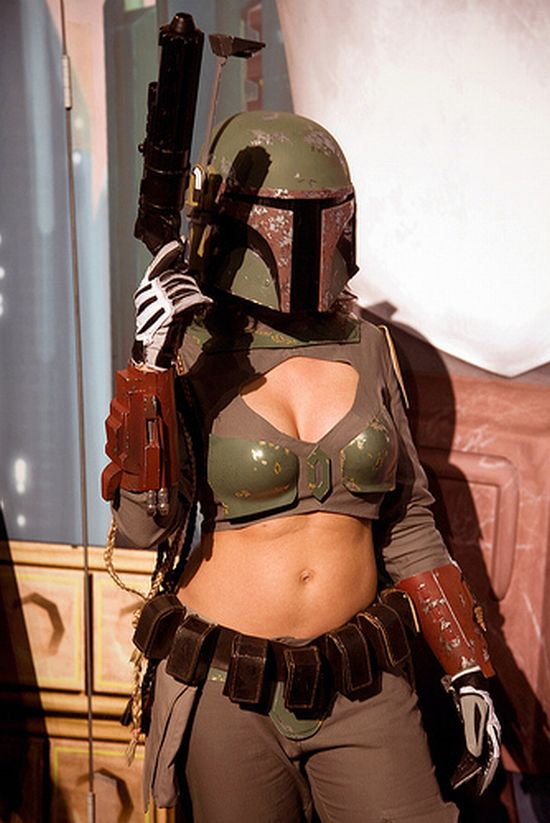 Sexy Star Wars Boba Fett Cosplay