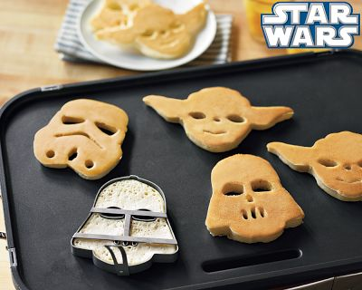Star Wars Heroes and Villains Pancake Set