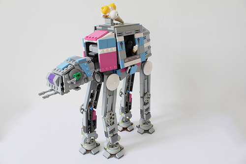 Star Wars Imperial AT-AT Ice Cream Truck
