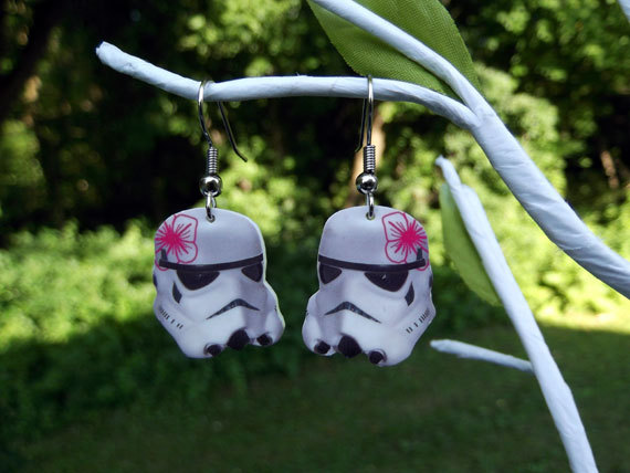 Star Wars Stormtrooper Earrings