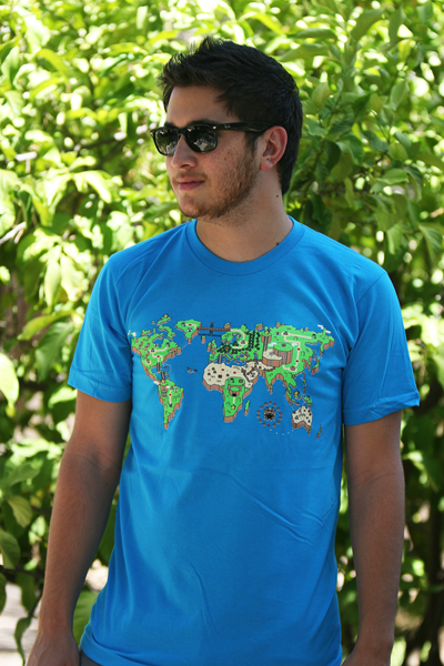 Super Mario World Earth Shirt