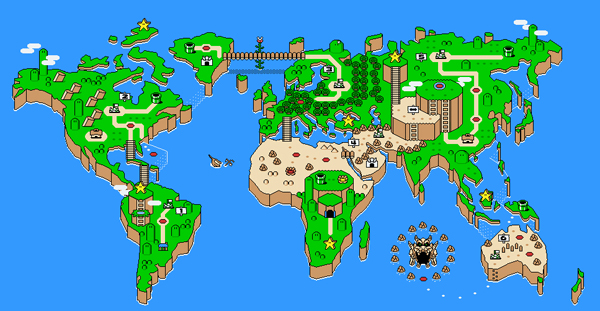 Super Mario World as Earth