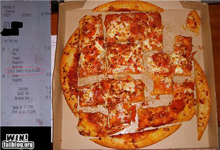 Tetris Pizza