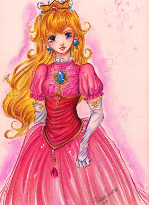 Awesome Princess Peach Fan Art