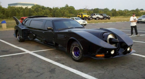 Batmans Batmobile Limo