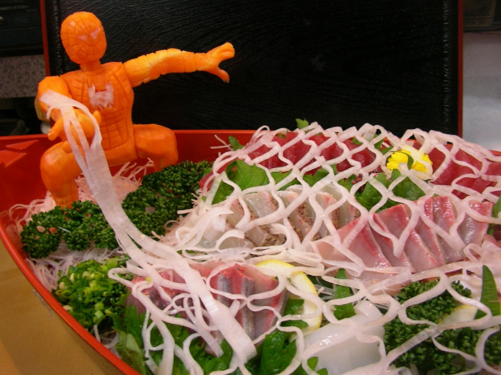 Carrott Spider-Man Sushi