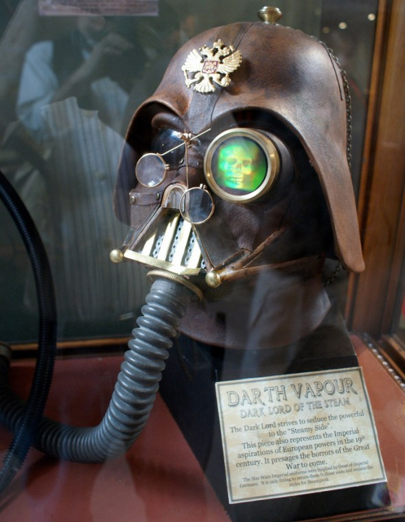 Darth Vapour Dark Lord of the Steam