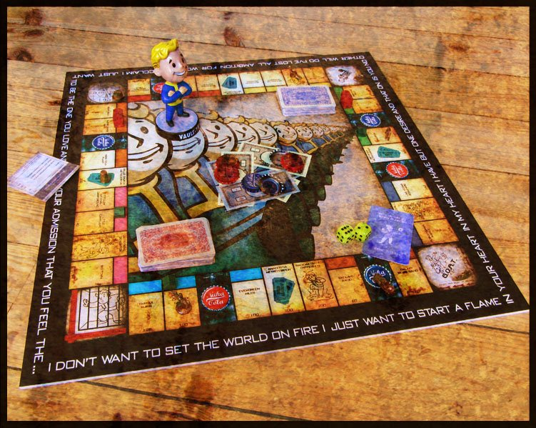 Fallout Monopoly Board Game