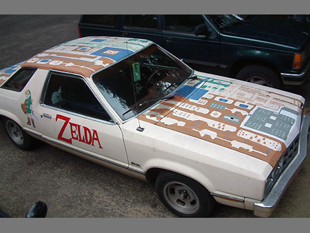 Legend of Zelda Car