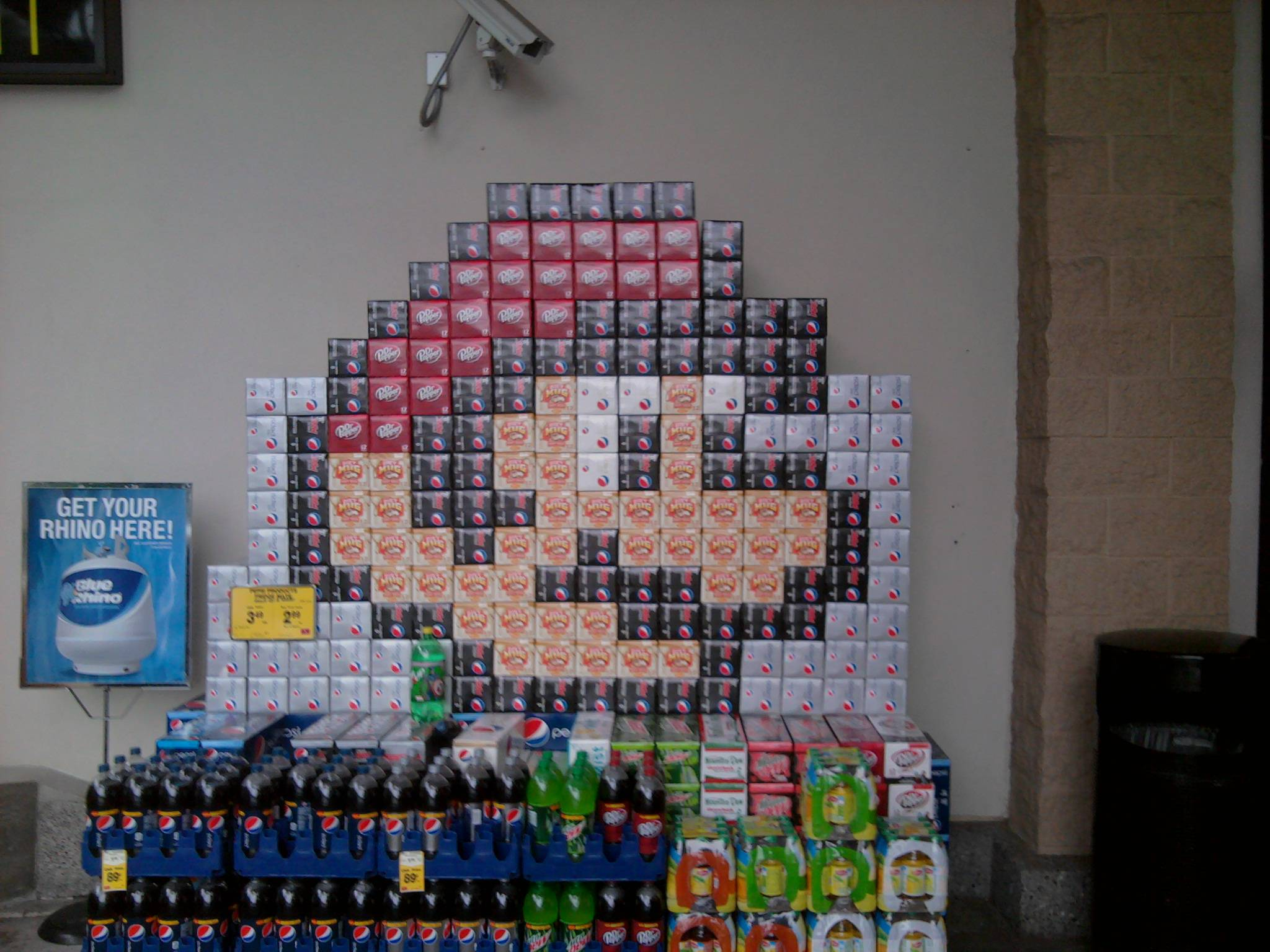 Mario Pop Display