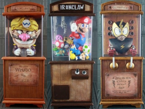 Nintendo Boardwalk Cabinets