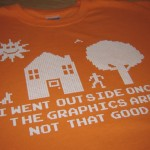 The Graphics Outside Aren't That Good T-Shirt [pic]