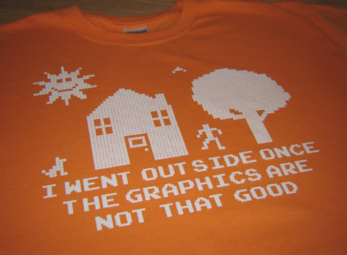Outside Graphics Are Bad T-Shirt