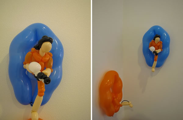 Portal Balloon Art