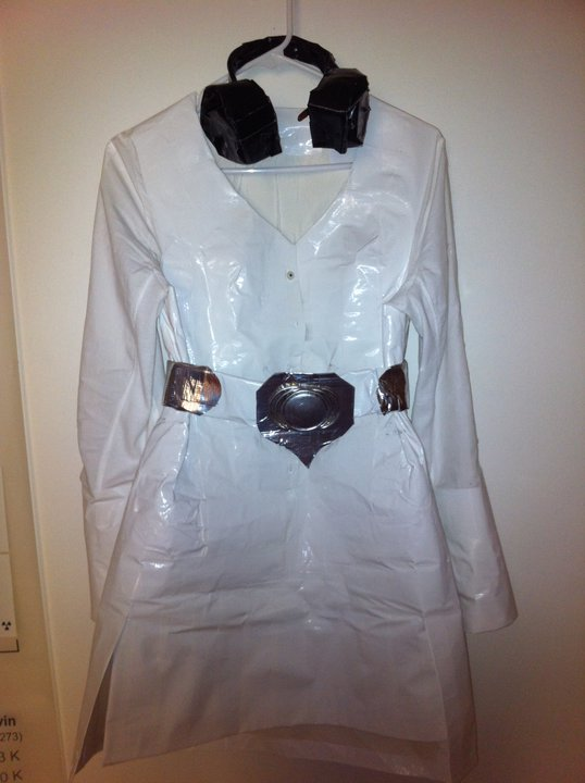 Princess Leia Duct Tape Dress