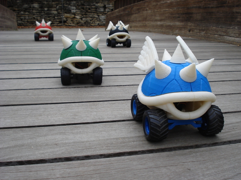 Remote Control Mario Kart Koopa Shell Racer